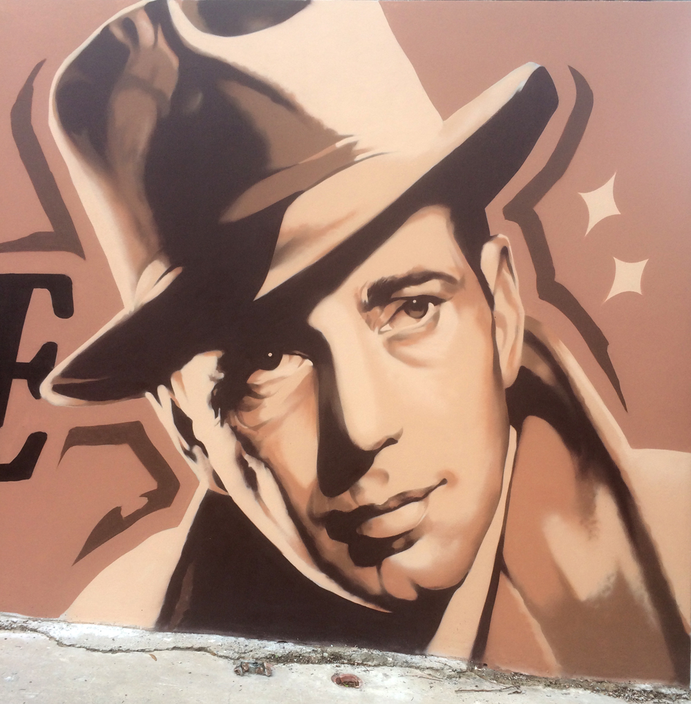Humphrey Bogart by Lee Harnden aka Linz